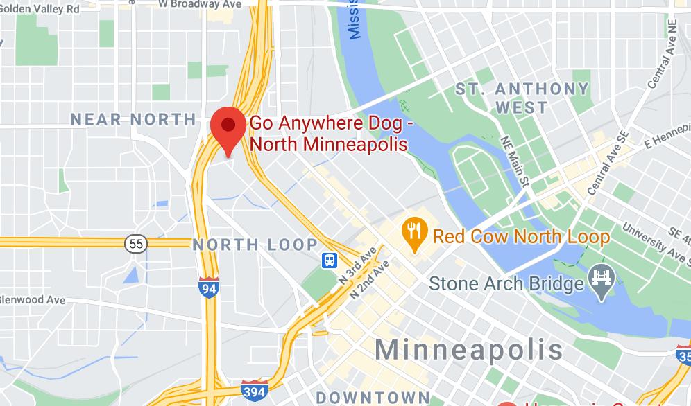 Go ANywhere Dog - North Minneapolis